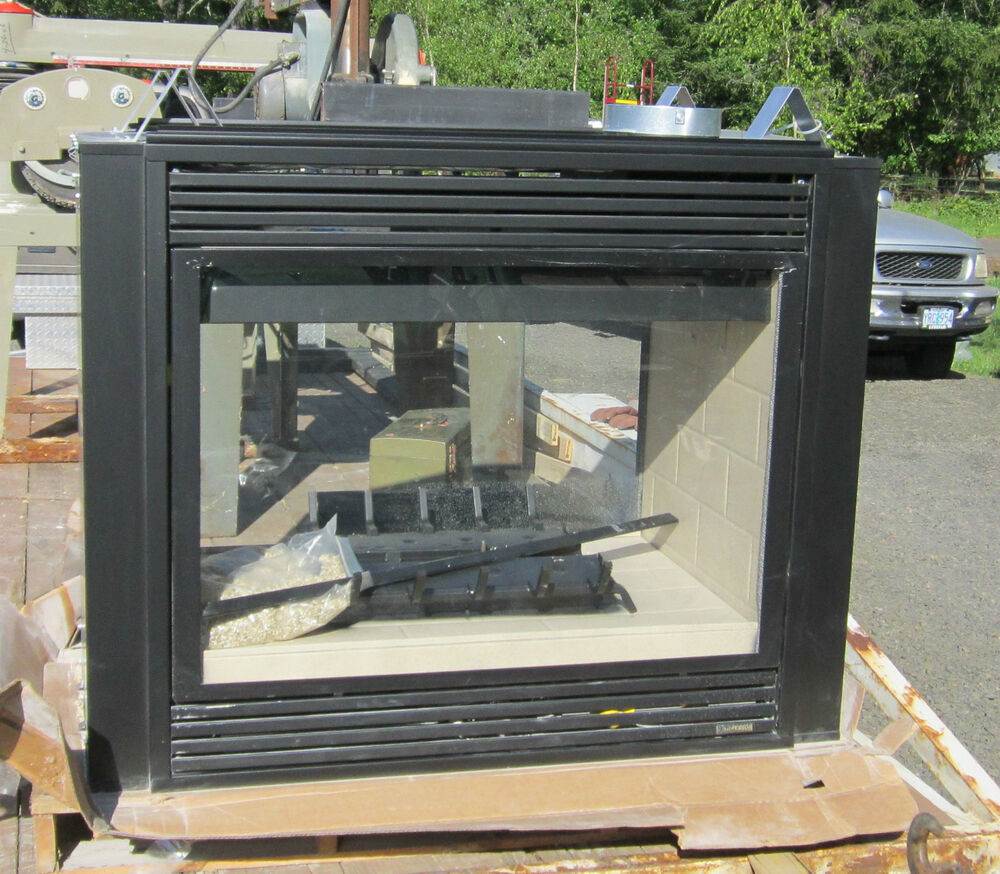 New Lenox Superior See Thru Direct Vent Gas Fireplace