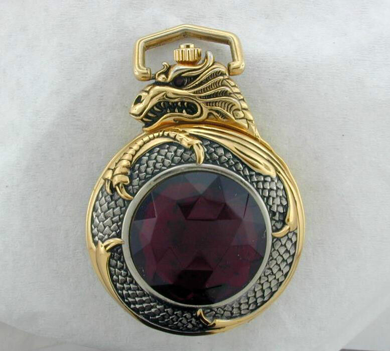 Knightstone Collection MISTRESS OF FIRE Pocket watch Red ...