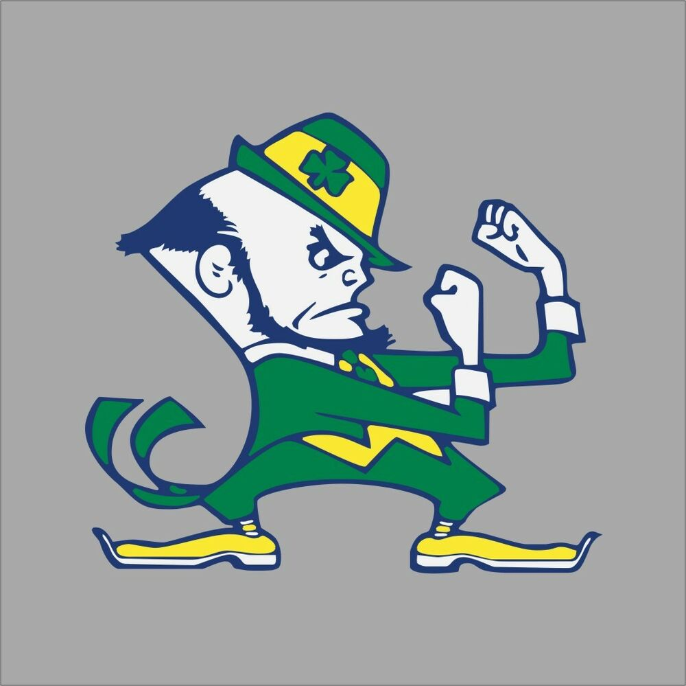 Notre Dame Fighting Irish Ncaa College Vinyl Sticker Decal