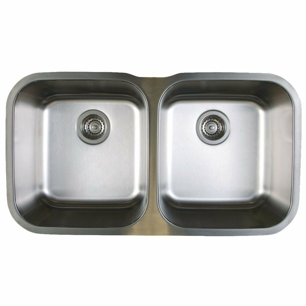 blanco double bowl kitchen sink blanco 441020 stellar stainless steel 33 1 3 quot equal 7917