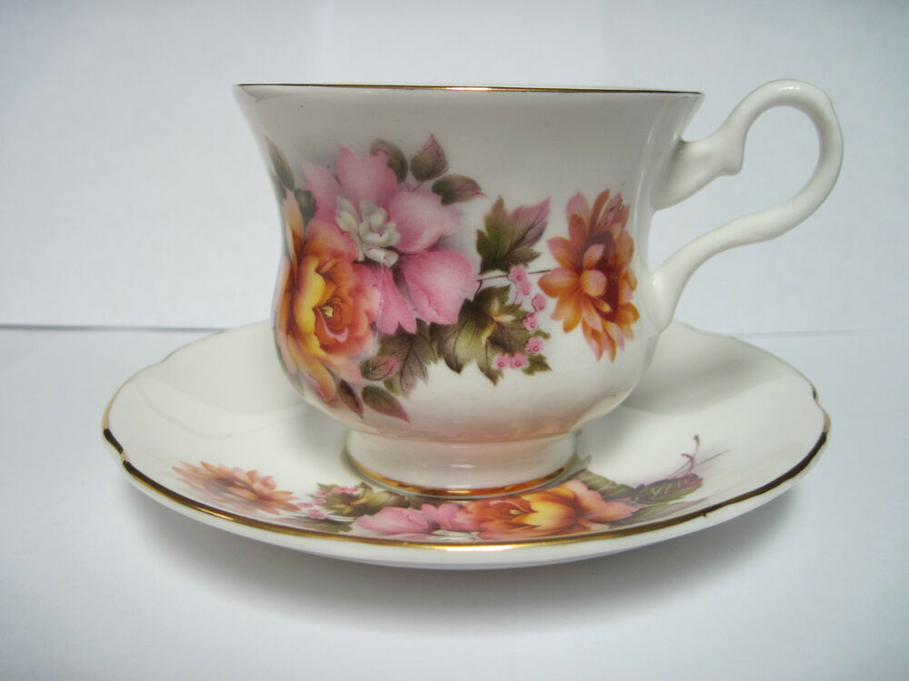 royal grafton fine bone china made in england cup and saucer ebay. Black Bedroom Furniture Sets. Home Design Ideas