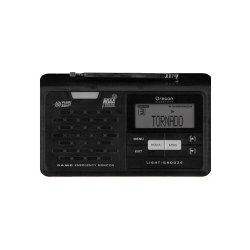 Rechargeable weather solar emergency radio with hand crank and solar