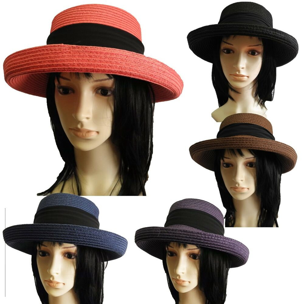 new Summer Fashion Women church paper straw Hat Bowler ...