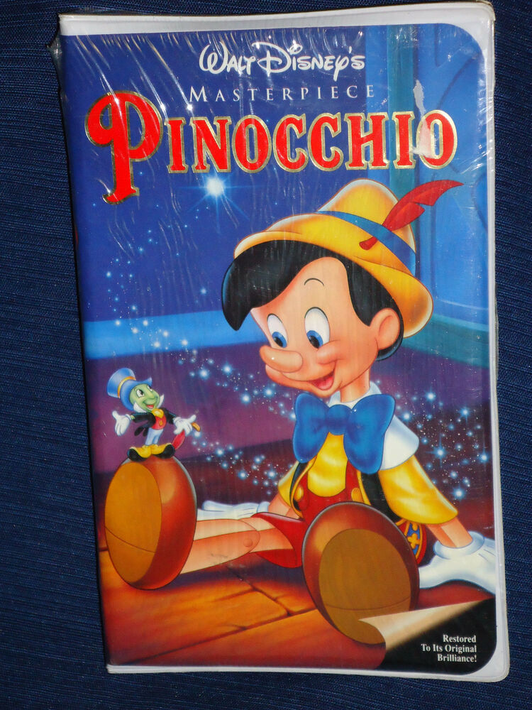 New & Sealed!! Walt Disney's PINOCCHIO (VHS, 1993) | eBay