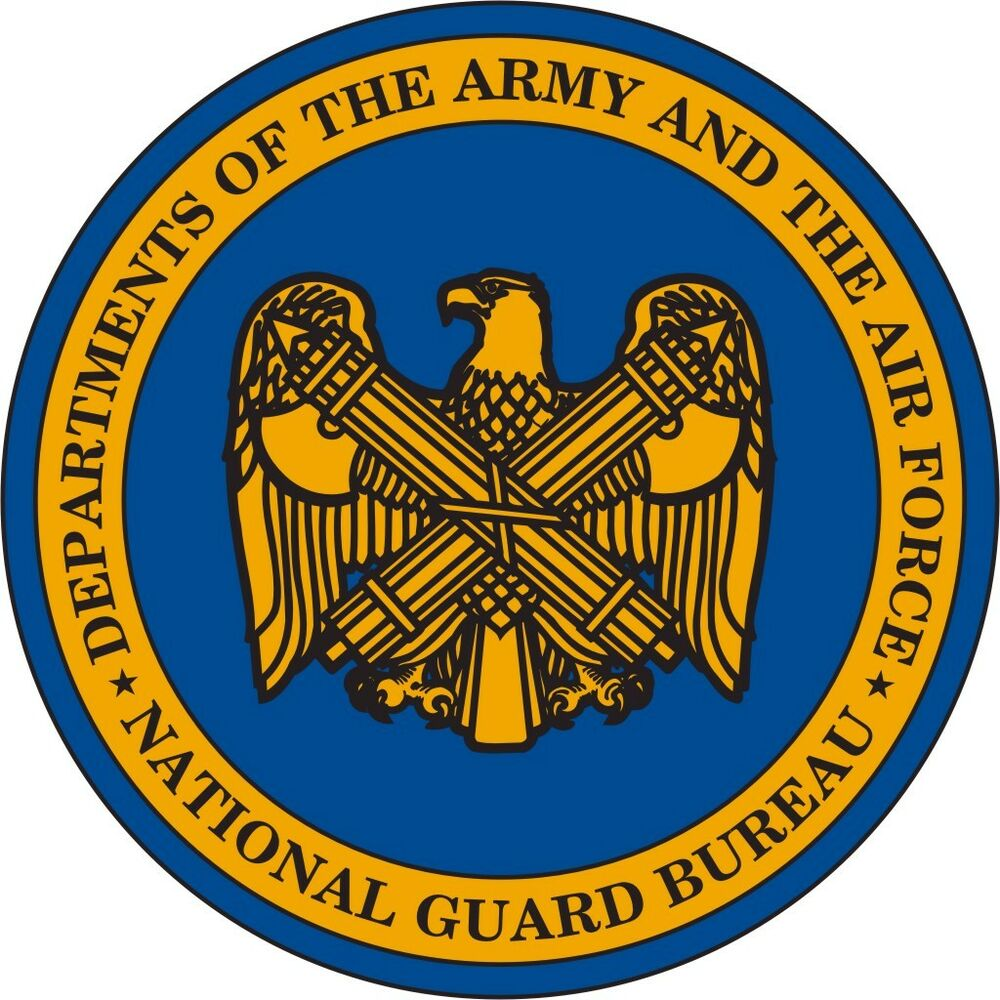 U S Army National Guard Bureau Wall Vinyl Decal Sticker