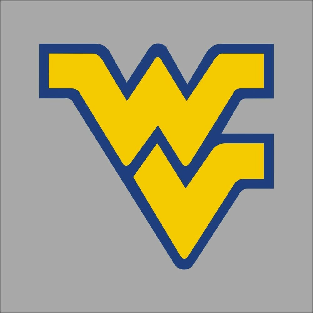 West Virginia Mountaineers Ncaa College Vinyl Sticker