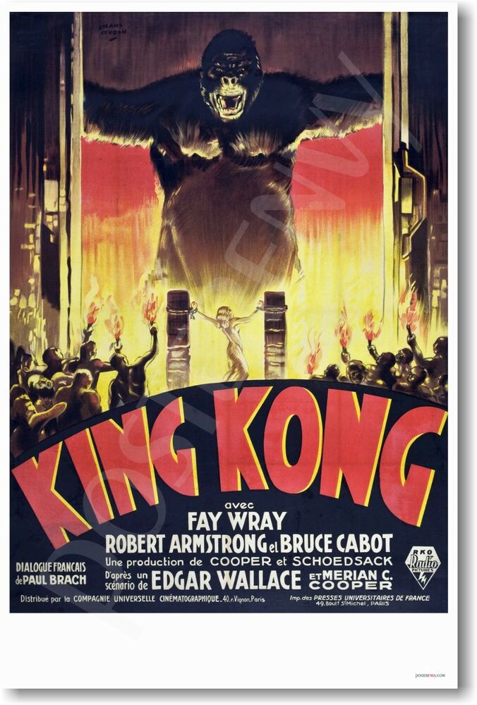 King Kong 1933  The Film Spectrum