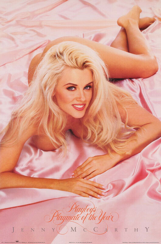 POSTER : JENNY McCARTHY - 1994 PLAYMATE OF YEAR - FREE