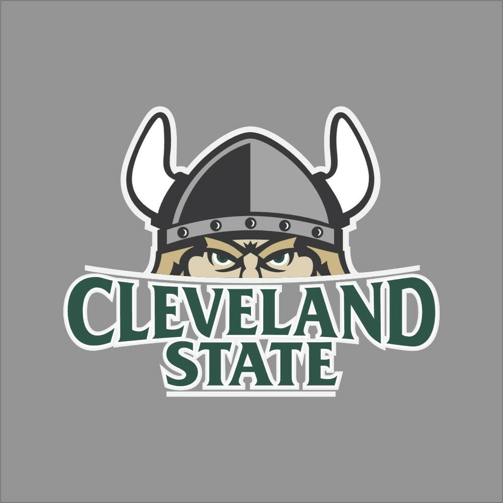 Cleveland State Vikings Ncaa College Vinyl Sticker Decal