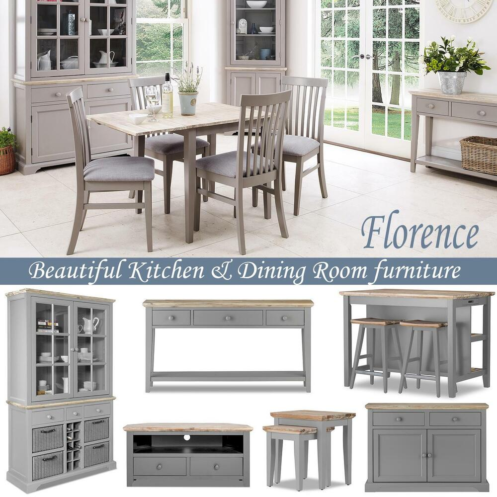 Console table kitchen dresser corner cupboard sideboard for Kitchen cabinets ebay