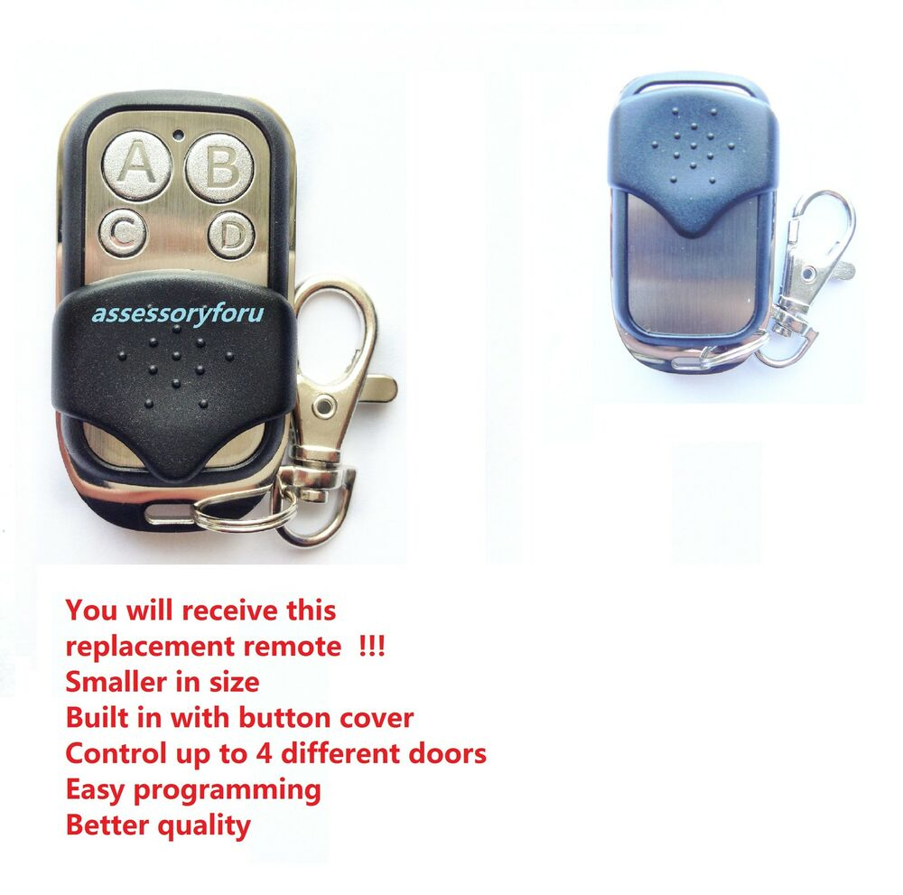 Accent Forza Silver Garage Door Remote Control Replacement