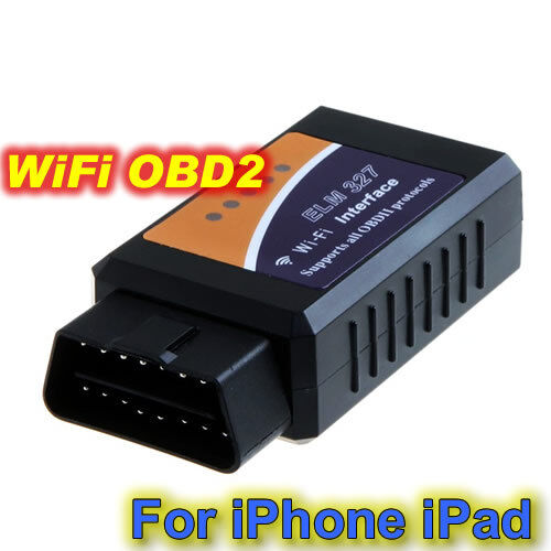 elm327 obd ii obd2 wifi car diagnostic wireless scanner for android iphone ipad ebay. Black Bedroom Furniture Sets. Home Design Ideas