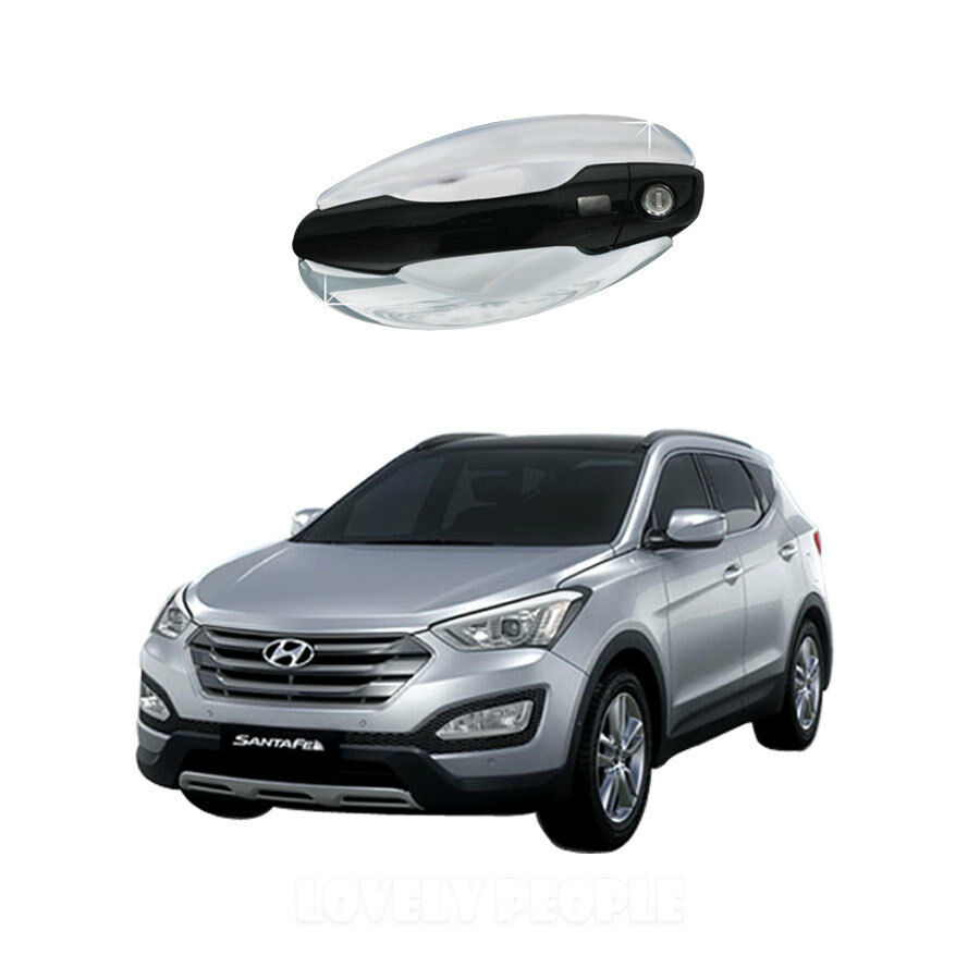 2011 Hyundai Santa Fe Exterior: Chrome Door Bowl Garnish Molding Exterior Trim For 2011