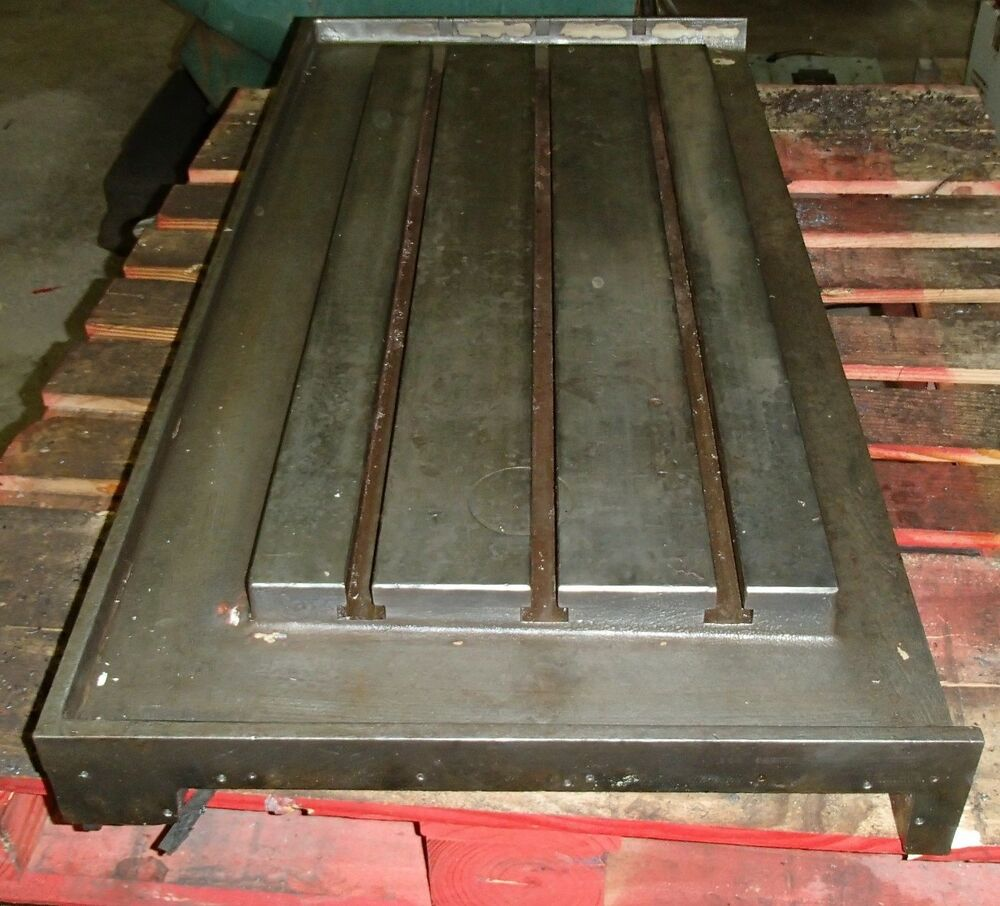 47 Quot X23 Quot X5 Quot Steel Welding T Slotted Table Cast Iron Layout