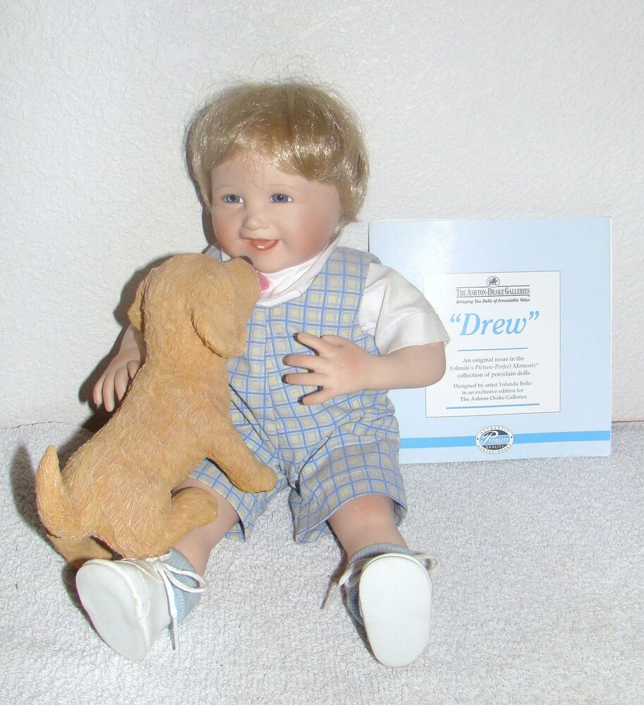 Ashton drake drew doll by yolanda bello ebay for The ashton