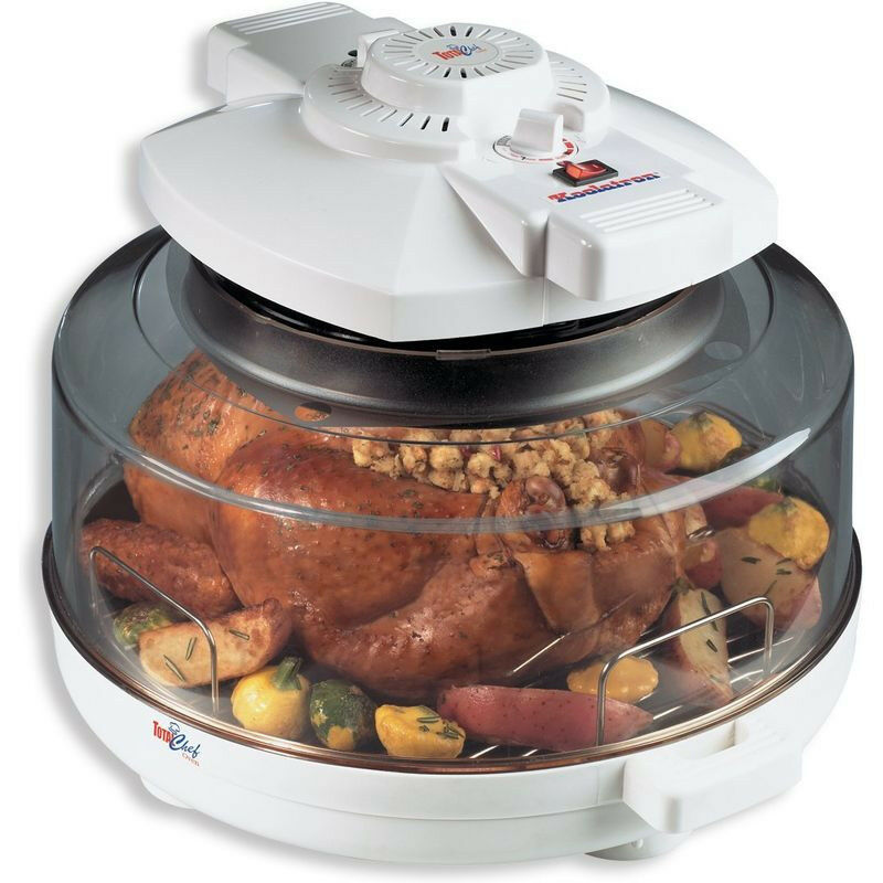 Countertop Convection Oven Chicken : Countertop Indoor Infared Oven & Rotisserie, 1300W Turbo Convection ...