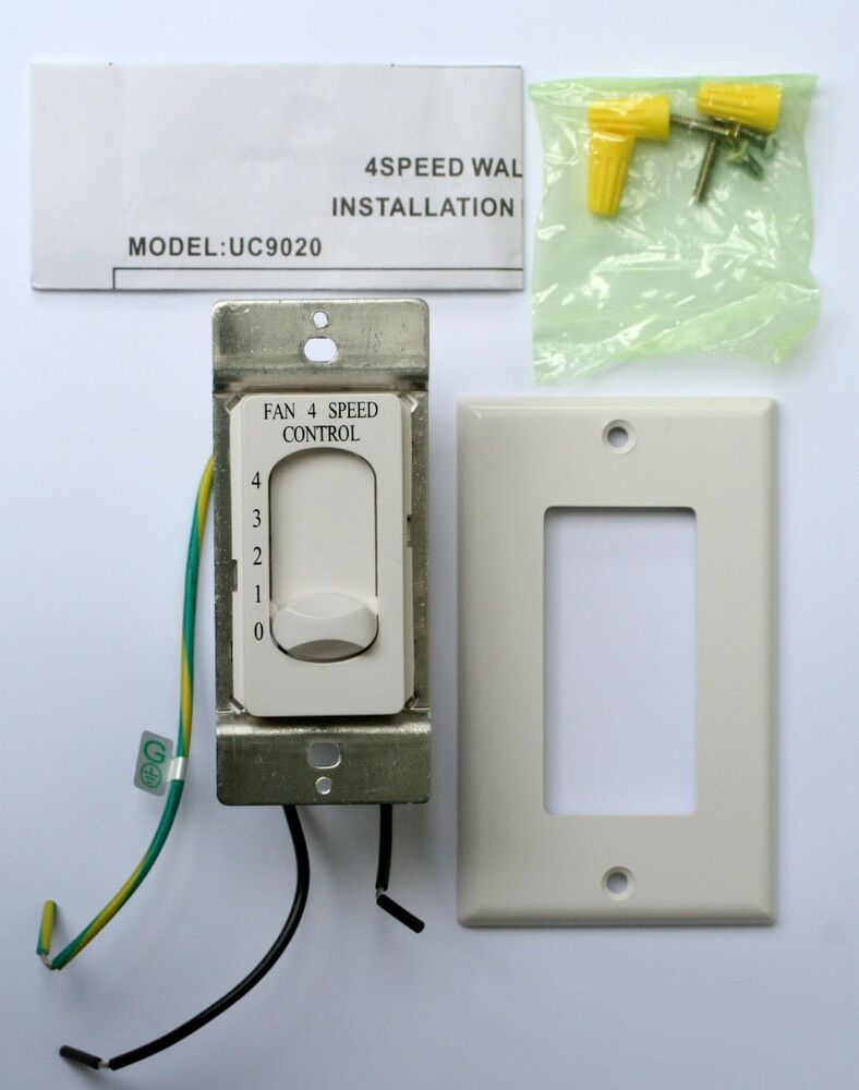 fan speed control new rhine ceiling fan 4 speed switch model uc9020 28758