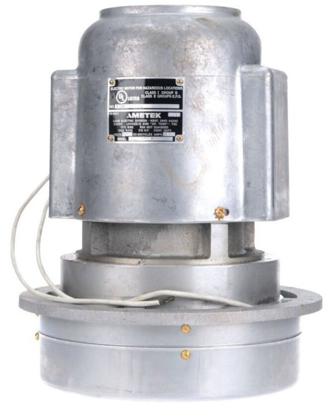 Ametek lamb vacuum blower motor 230 volts hazardous location 114589 ebay Lamb vacuum motor parts
