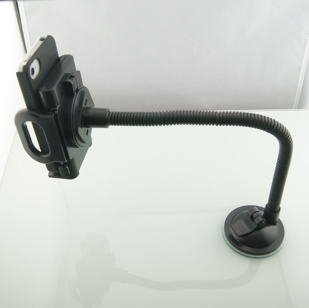 32cm Extra Long Gooseneck Car Windshield Suction Mount For