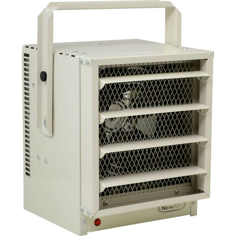 Commercial 5000w electric garage heater 500 sq ft for 500 sq ft garage