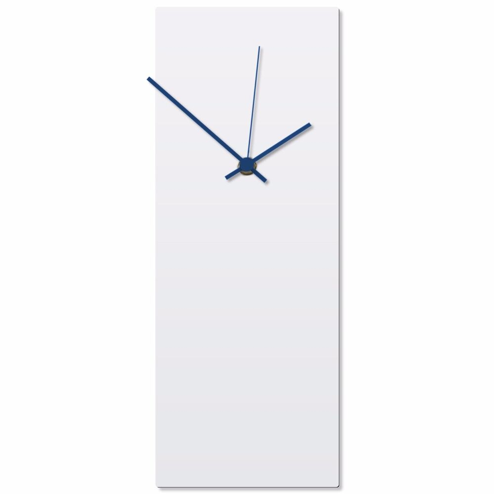 Minimalist wall clock contemporary decor modern metal for Modern minimalist wall art