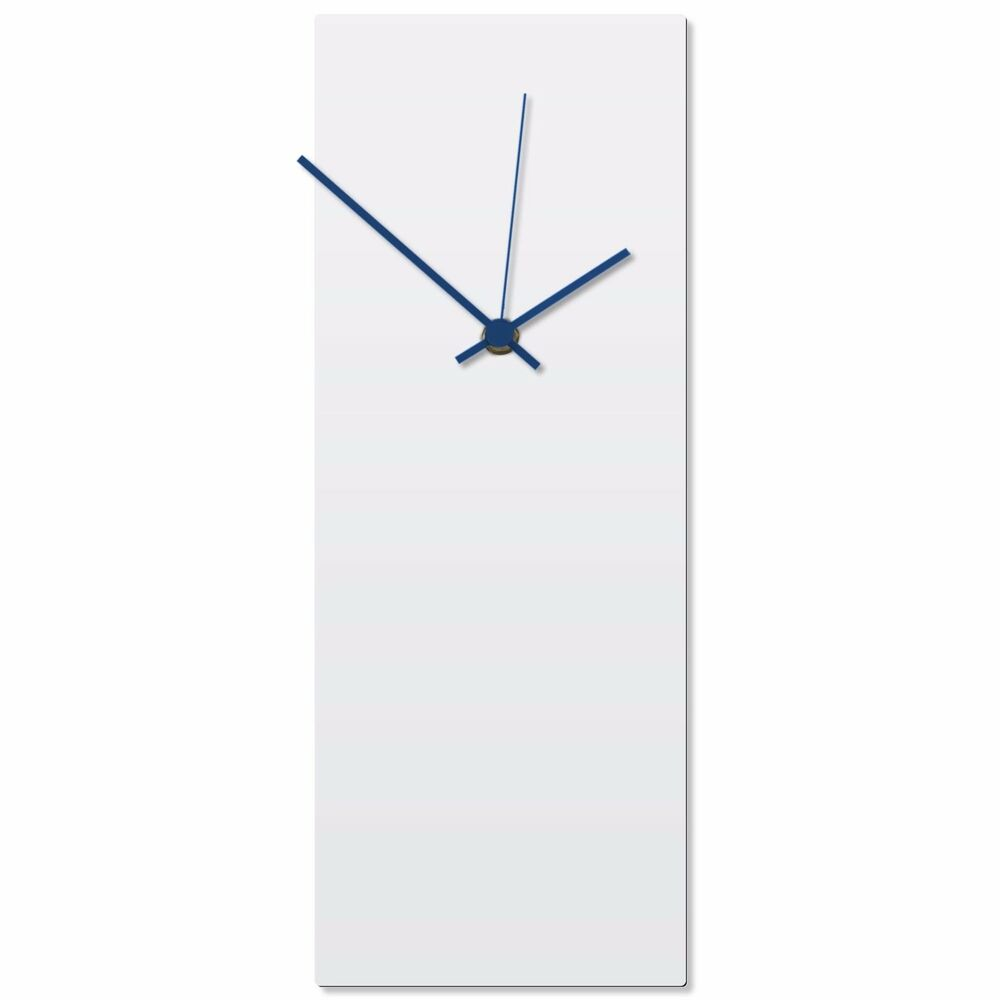 Minimalist wall clock contemporary decor modern metal for Minimalist wall decor