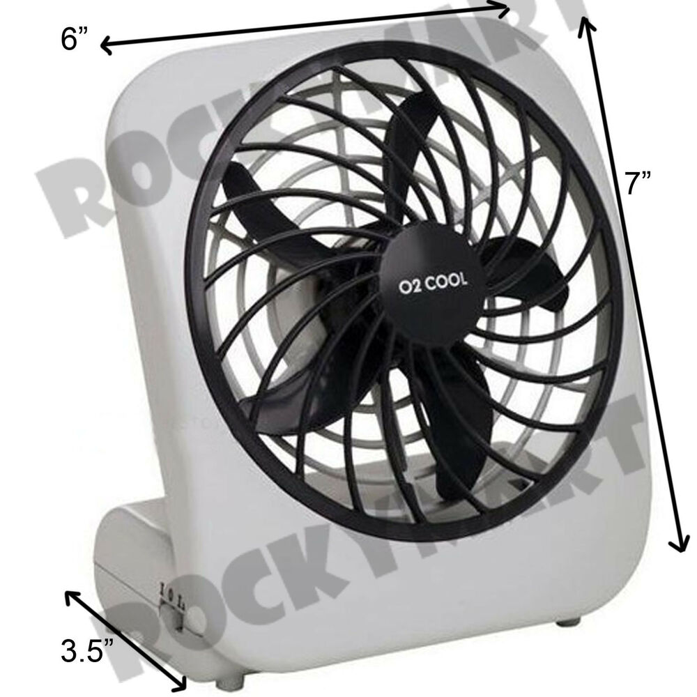 02 Cool 5 Battery Fan : O cool portable personal fan battery speed camping