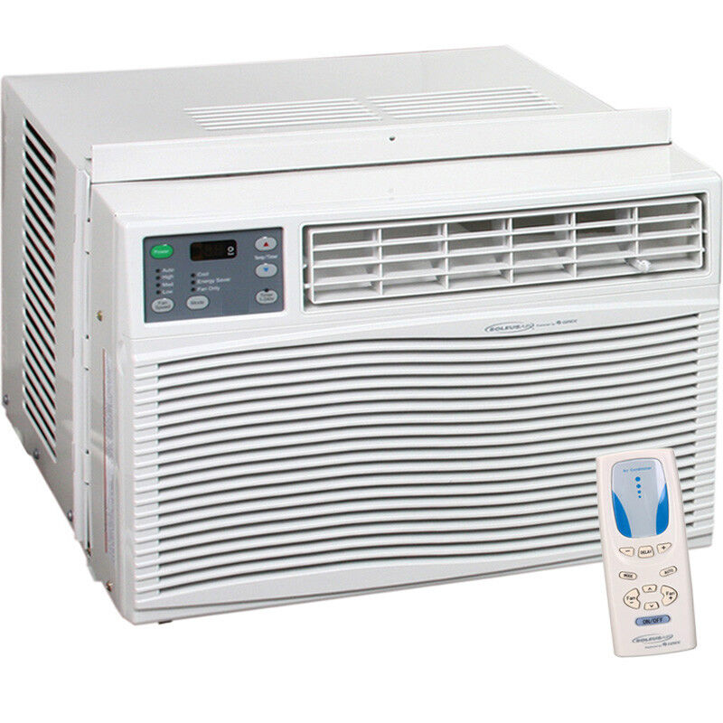 25000 btu window ac unit w heater 1500 sq ft air for Window unit ac