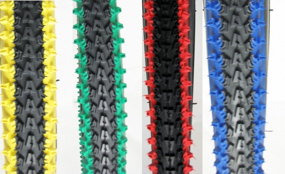 2 Bicycle Tires 26 Quot X 2 10 Vee Rubber 2 Tone Colors Mtb
