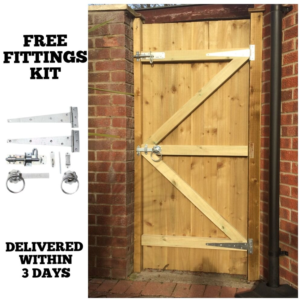 Made To Measure Wooden Garden Gate Gates Featheredge