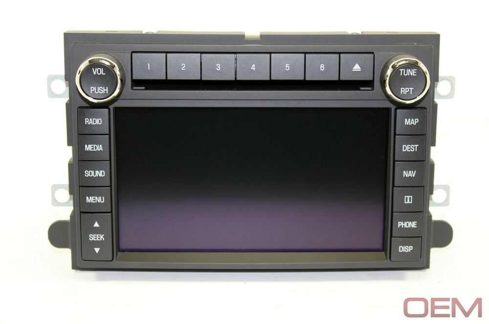 2009 2010 2011 2012 ford f150 factory oem navigation gps hdd dvd sync cd radio ebay Ford Edge Navigation Update Ford Edge Navigation System Replacement