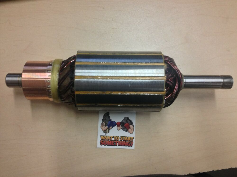New Delco Remy Starter Generator Armature 12 Volt Bearing