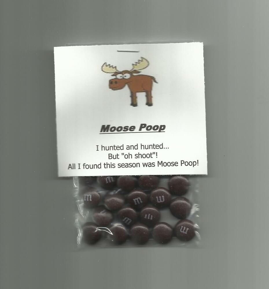 New Homemade Moose Poop Chocolate Candy Novelty Gag Gift ...