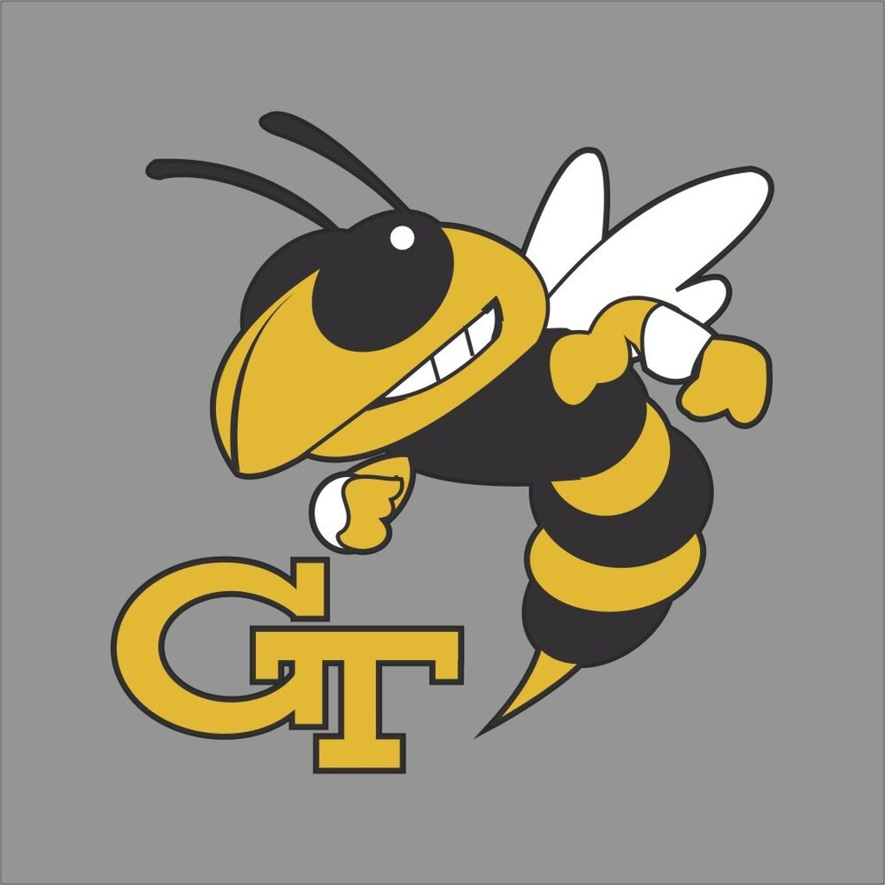 Georgia Tech Yellow Jackets Ncaa College Vinyl Sticker