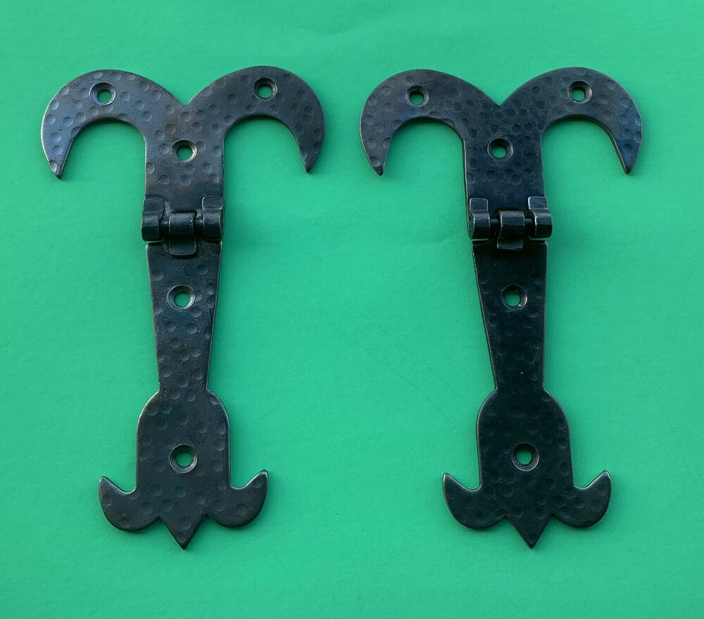 Antique Hardware Medevial Style Barn Door Hinges Chest
