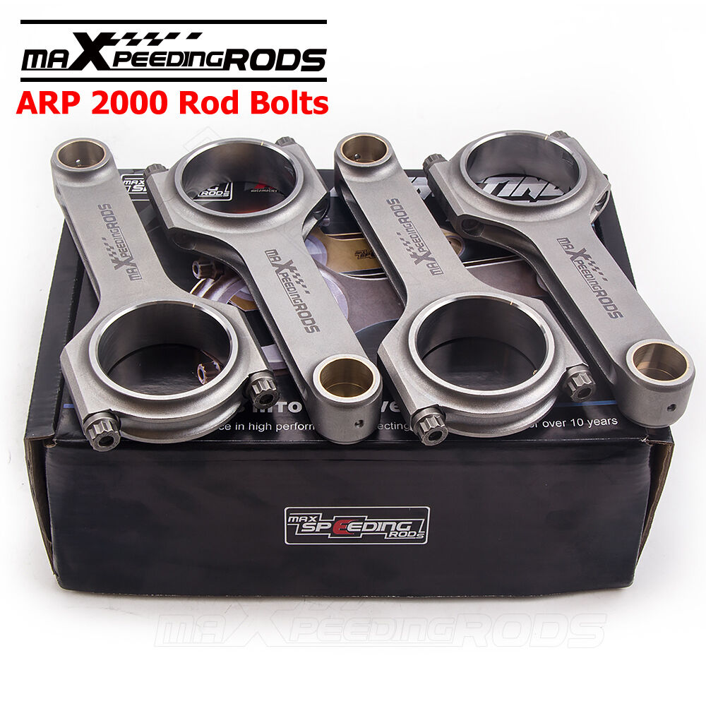 Connecting Rods + Bolts Kit For Toyota Yaris Echo Vios