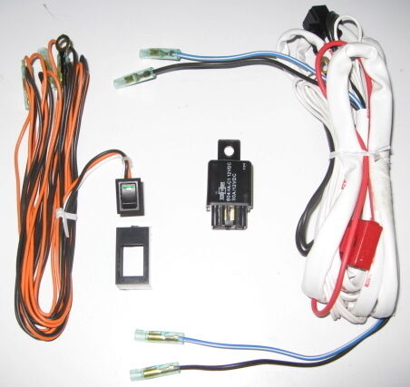 kc light kit wiring diagram wire harness led rocker switch & relay kit 4 catz hella ... #8