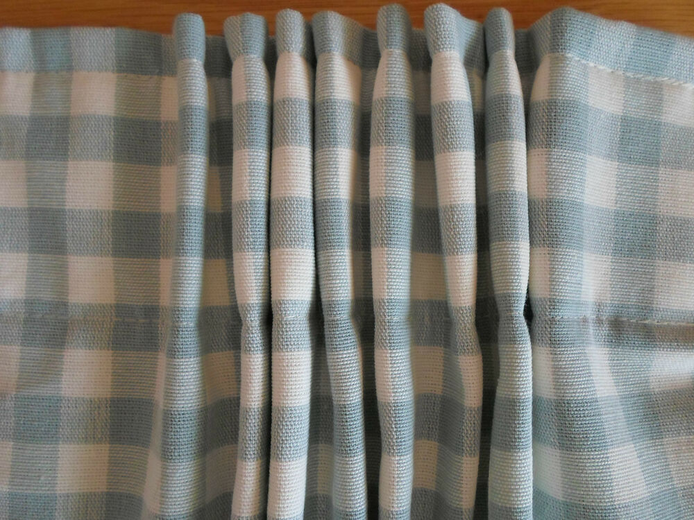 Decorative Double Curtain Rods Pink Gingham Napkins