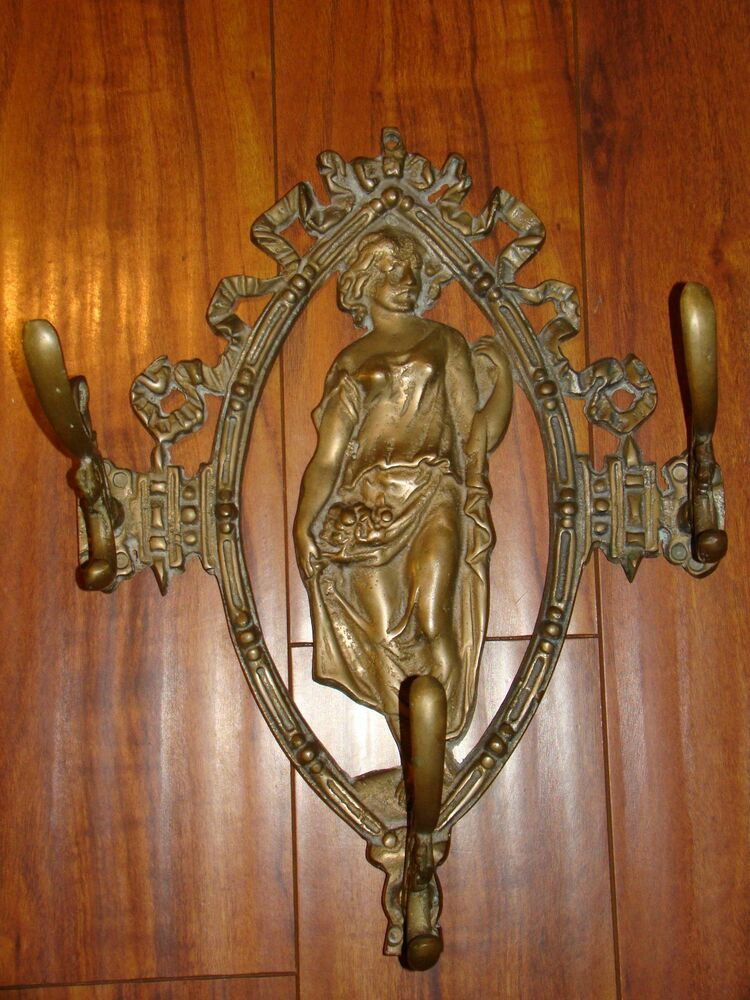 metal wall accents antique vintage bronze brass metal style 4099
