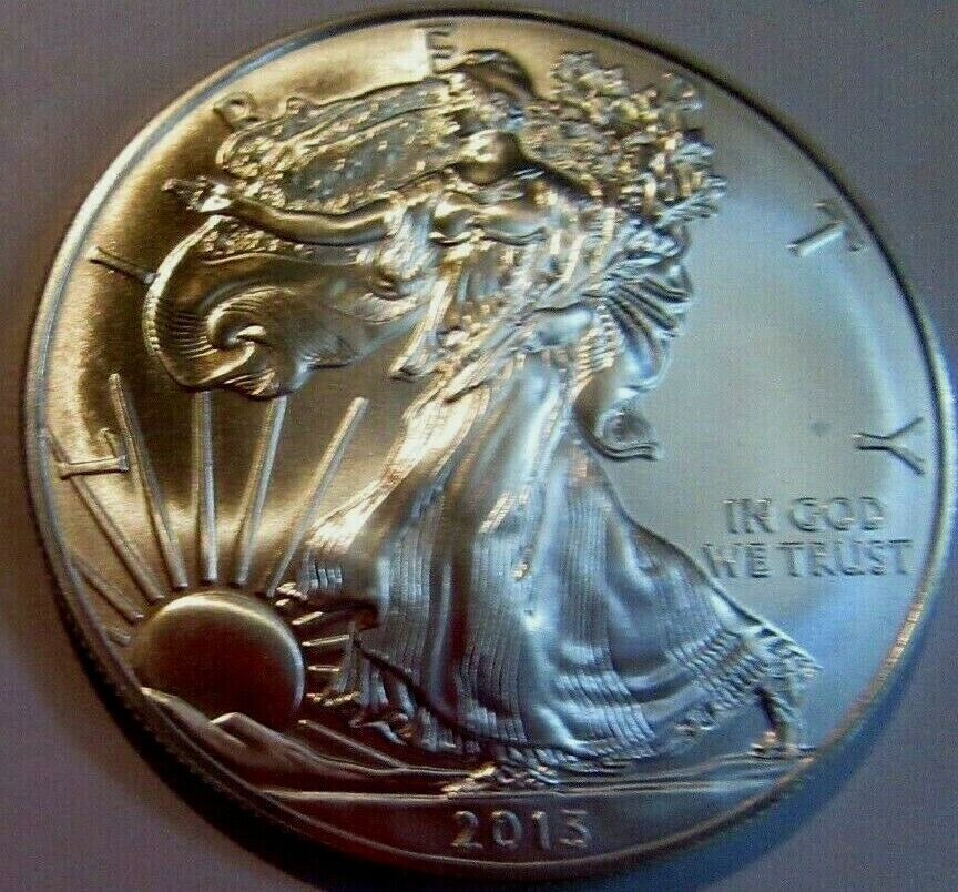 1 Oz Silver Walking Liberty American Eagle 999 Fine