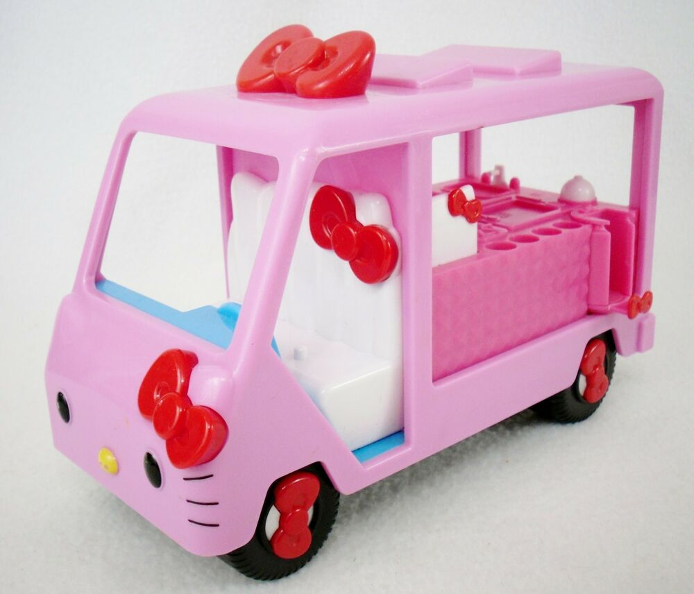 Hello Kitty Toy Food : Rare hello kitty quot food truck plastic vehicle playset w