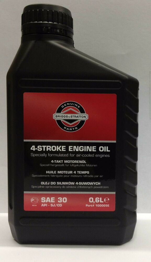briggs stratton 450 series 148cc engine oil 600ml 4. Black Bedroom Furniture Sets. Home Design Ideas