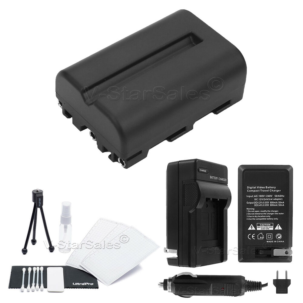 Np Fm500 Battery Charger Bonus For Sony Alpha Slt A58