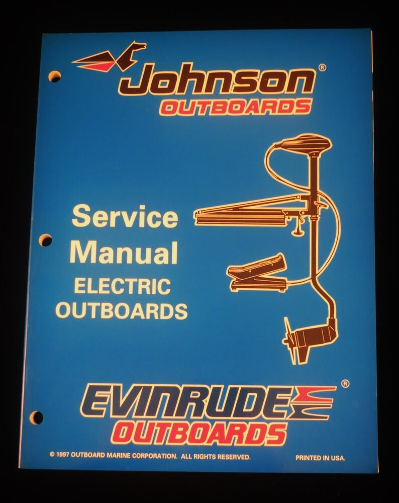 1998 Johnson Evinrude Electric Outboard Trolling Motor