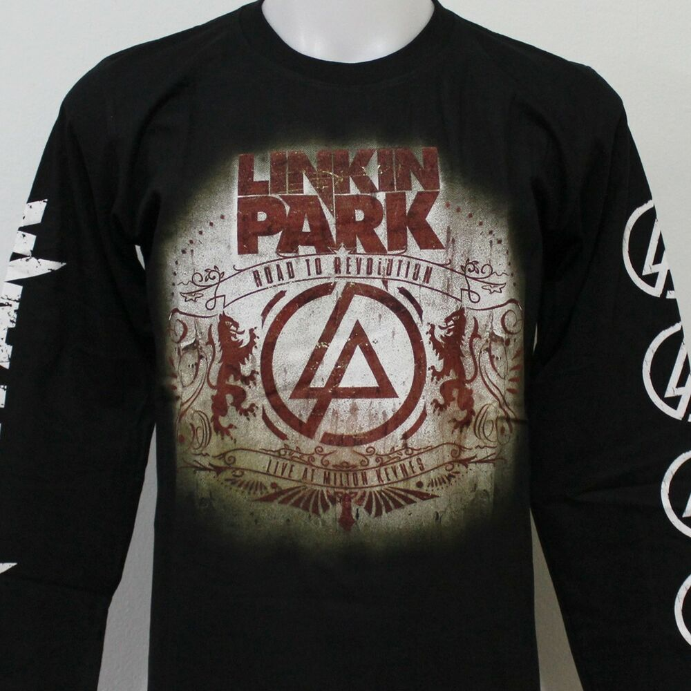 linkin park road to revoultion long sleeve t shirt new. Black Bedroom Furniture Sets. Home Design Ideas