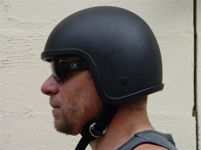 New X Rated Low Profile Skull Cap Cannonball Novelty Crash