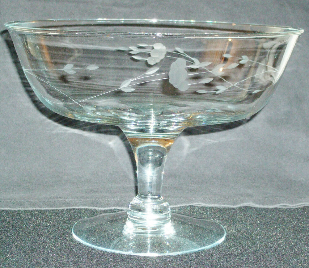 Princess house heritage compote ebay for Princess housse