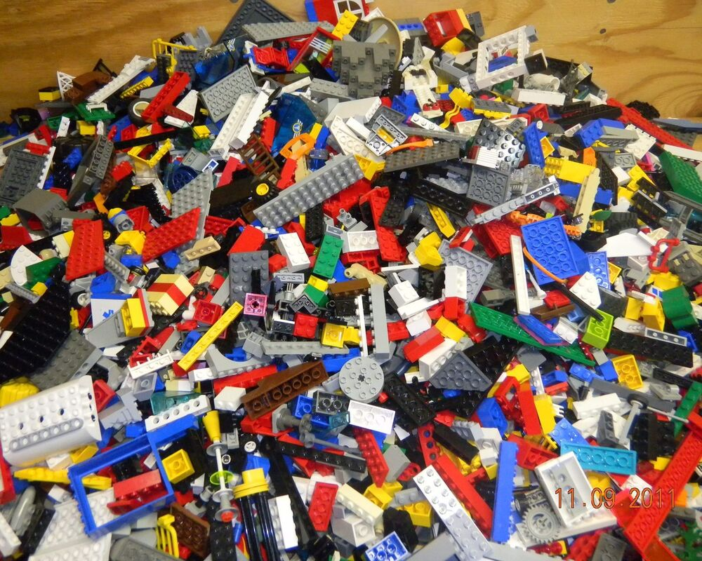 Lego By The Pound From 1 Up To 20 Pounds Legos Mixed Bulk Pieces Bricks Ebay