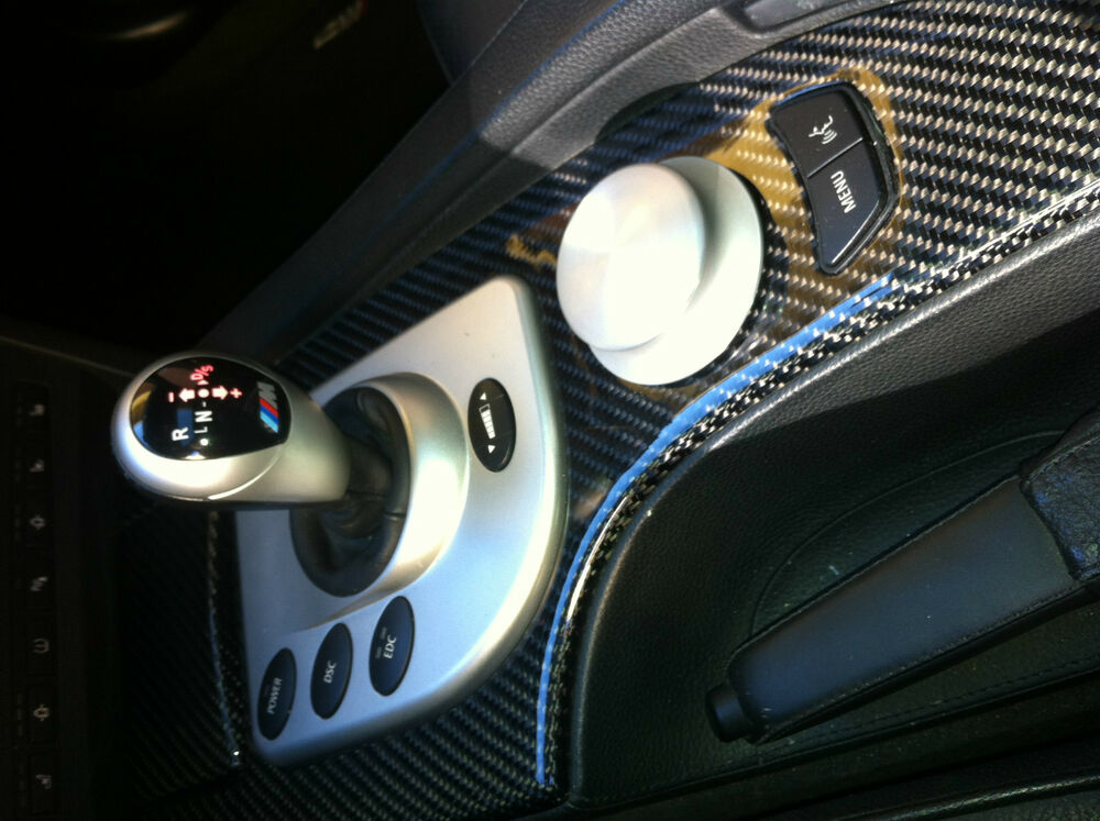 Bmw 5series E60 M5 Oem Intirior Trim Refinish In Carbon