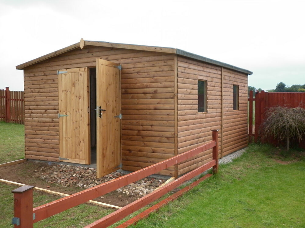 Quality Bespoke Wooden Garage Workshop Shed Storage 006 Ebay
